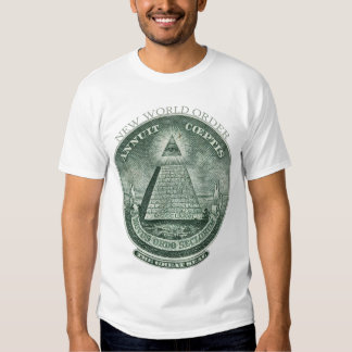 The New World Order Annuit Coeptis Tee Shirt