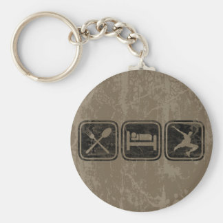 The Parkour Basic Round Button Key Ring
