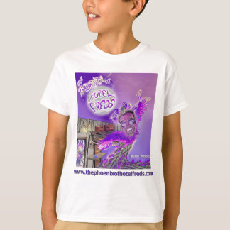 The Phoenix of Hotel Freds Apparel Cover Kids Tee Shirt