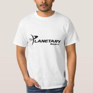 The Planetary Society Mens Value T-shirt