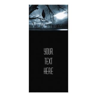 The Raven - Nevermore Sunbeams & Tree Blue Custom Rack Cards