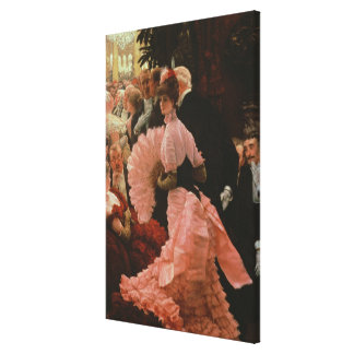 The Reception or, L'Ambitieuse (Political Woman) c Gallery Wrap Canvas