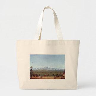 The Rendezvous Near Green River Jumbo Tote Bag