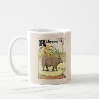 The Rhinoceros Storybook Basic White Mug