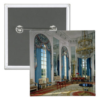 The Salon des Glaces (The Room of Mirrors) in the 15 Cm Square Badge