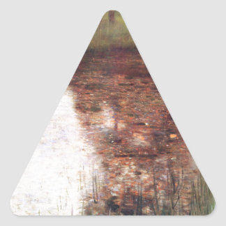 The Swamp cool Triangle Sticker