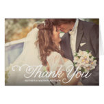 The Sweetest Day | Wedding Thank You Greeting Card