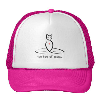The Tao Of Meow - Fancy style text. Cap