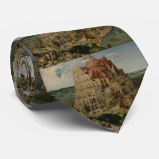The Tower of Babel by Pieter Bruegel Tie