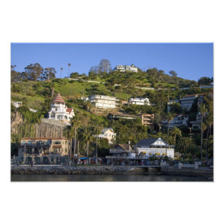 The town of Avalon on Catalina Island, Photo
