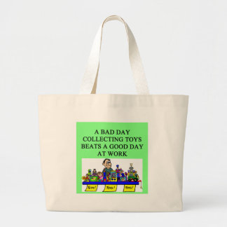 the toy collector jumbo tote bag