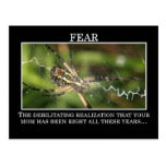 The True Meaning of Fear Postcard
