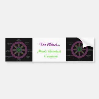 The Wheel Bumper Sticker