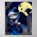 The Whispered Word Lenore ART PRINT gothic fairy