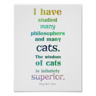 The Wisdom of Cats Poster