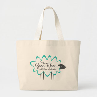 The Yarn Barn of San Antonio Sheepy Jumbo Tote Bag