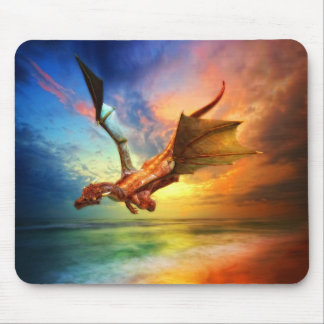 The Year of the Dragon Mouse Pad