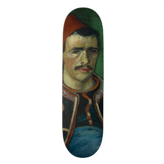 The Zouave by Vincent Van Gogh Skateboard