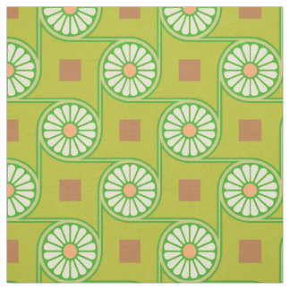 Thebes Green Fabric