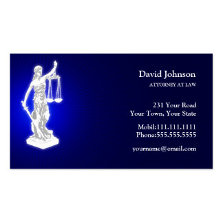 Themis | Blue Pack Of Standard Business Cards