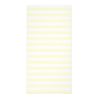 Thin Stripes - White and Cream Photo Cards