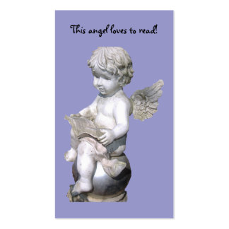 This Angel Loves To Read! Bookmark Pack Of Standard Business Cards
