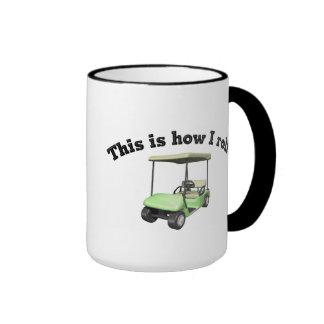 This is How I Roll Ringer Mug