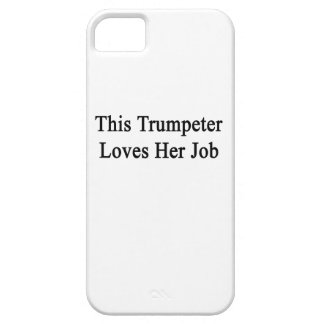 This Trumpeter Loves Her Job iPhone 5 Case