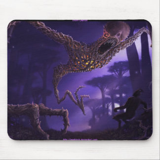 thorn demon mouse pad