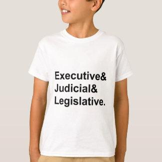 Three Branches of Government Executive Legislative T Shirts
