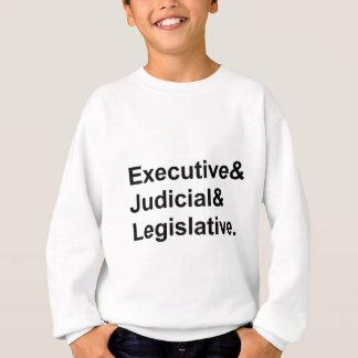 Three Branches of Government Executive Legislative Tees