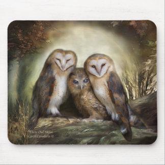 Three Owl Moon Mousepad