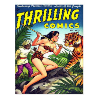 Thrilling Comics 71 Postcard