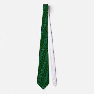Tie-Dyed Tie - Green
