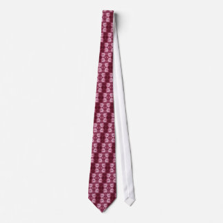 Tie-Dyed Tie - Mulberry