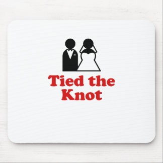 Tied the Knot Mouse Pad