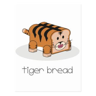 Tiger Bread Postcard