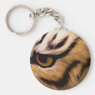 Tiger Photo Keychain