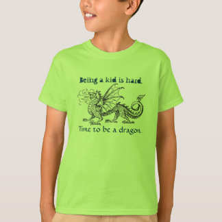 """""""Time to Be a Dragon"""" Girl's T-Shirt"""