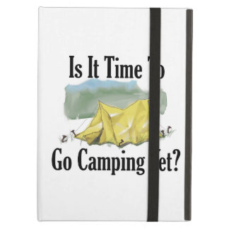 Time To Go Camping Tablet Case iPad Air Cover