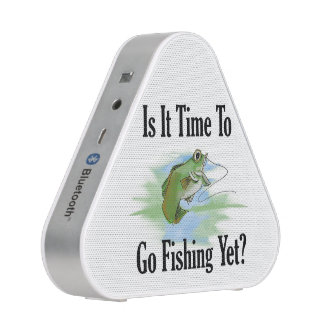Time To Go Fishing Pieladium Speaker
