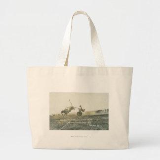 Tin Horn Hank Keenan and his chariot. Jumbo Tote Bag