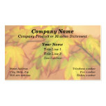 """""""Tinged with Red"""" (Maple Leaves) Pack Of Standard Business Cards"""