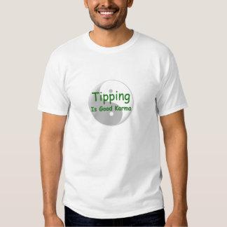 Tipping is good karma men's T T Shirt