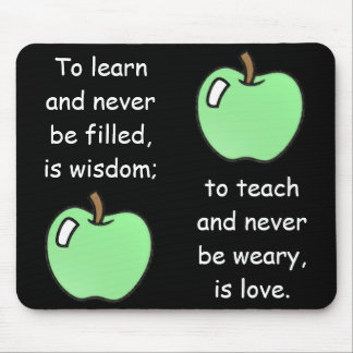 To Learn-To Teach Mousepad