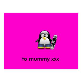 to mummy xxx postcard