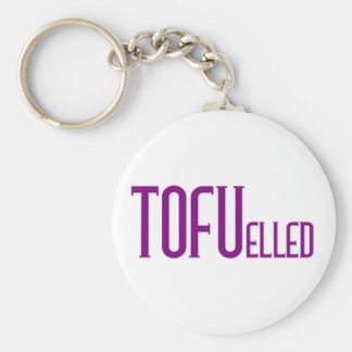TOFUelled Basic Round Button Key Ring