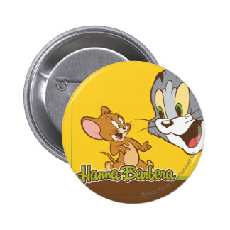 Tom And Jerry 6 Cm Round Badge