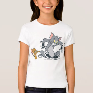 Tom and Jerry Black Paw Cat Tees