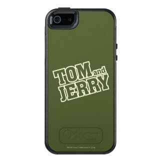 Tom and Jerry Logo 3 OtterBox iPhone 5/5s/SE Case